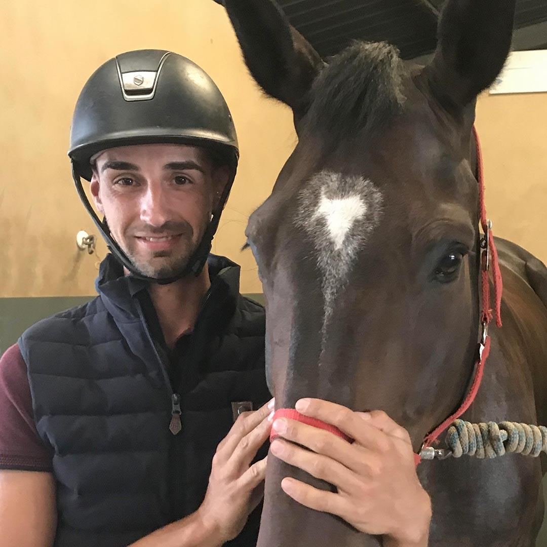 Félix Enault - Moniteur cheval
